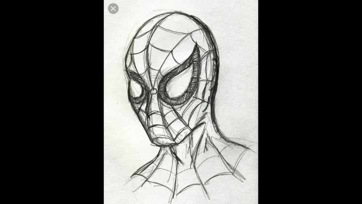 Awesome Spiderman Pencil Sketch for Beginners How To Draw Spiderman Pencil Sketch. Easy Drawing Tutorial. Pictures