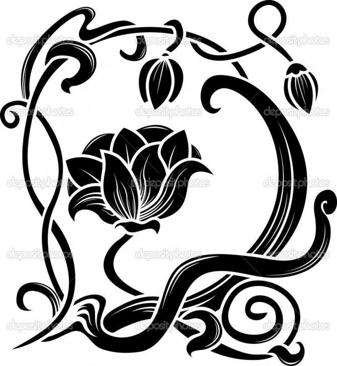 Awesome Stencil Art Pinterest Courses Art Nouveau Floral | Cart Cart Lightbox Lightbox Share Facebook Pics