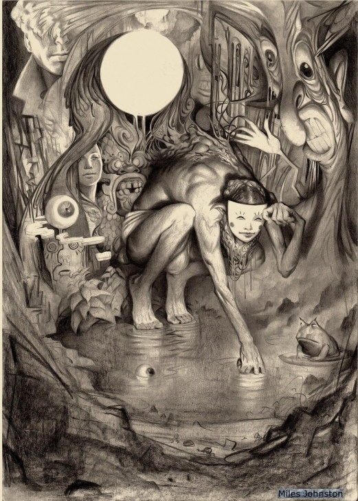 Awesome Surreal Pencil Drawings Lessons Incredible And Surreal Pencil Drawings By Miles Johnston | Art Pics