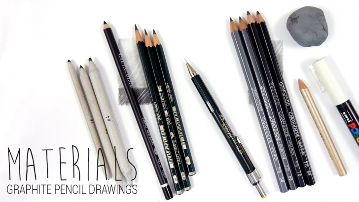 Awesome Types Of Graphite Pencils Techniques for Beginners Drawing Materials/art Supplies I Use For My Graphite Pencil Drawings | Emmy  Kalia Picture