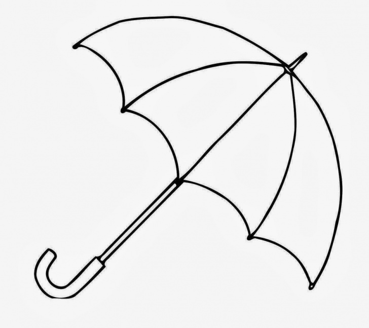 Umbrella Pencil Drawing