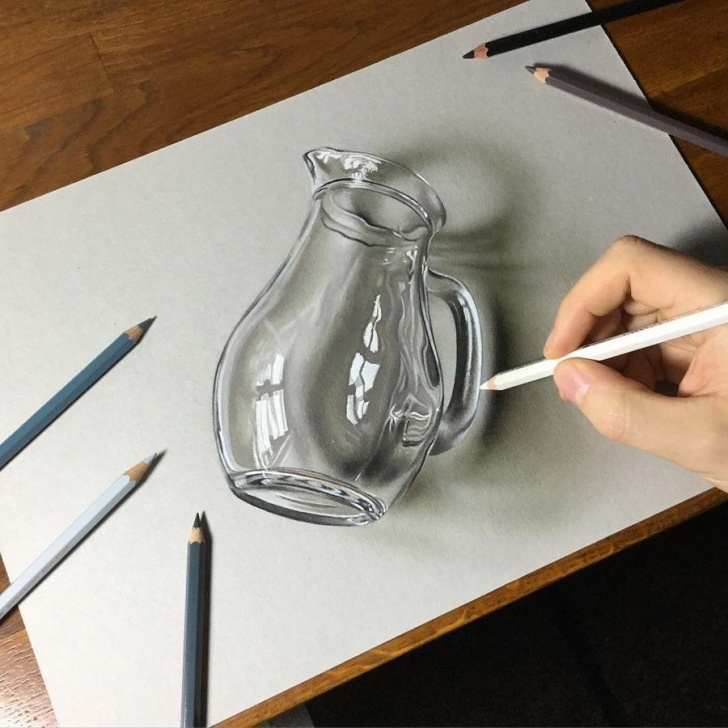 Best 3D Art Drawing Pencil Lessons Hyper-Realistic Illustrations By Marcello Barenghi | Artside | 3D Pic