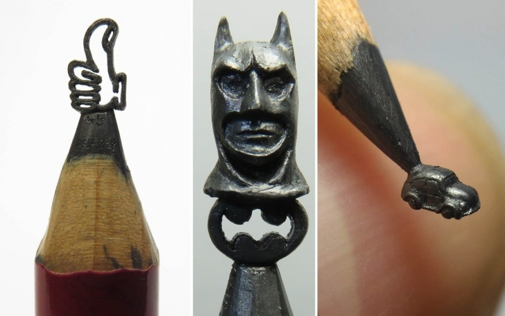 Best Art On Pencil Free Artist Creates Sculptures Out Of Pencil Lead, In Pictures - News Photos