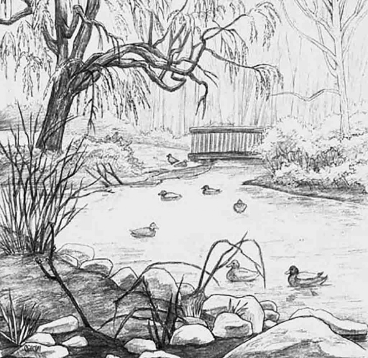 Best Beautiful Scenery Pencil Sketch Techniques for Beginners Pin By Anand Ganesan On Pencil Art In 2019 | Pencil Drawings Photo