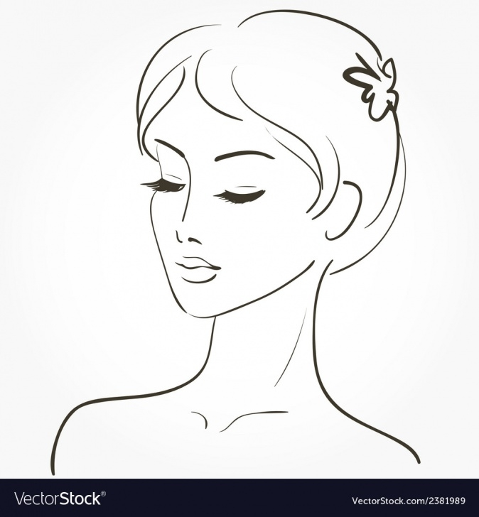 Best Beautiful Woman Sketch Techniques for Beginners Beautiful Young Woman Sketch Picture