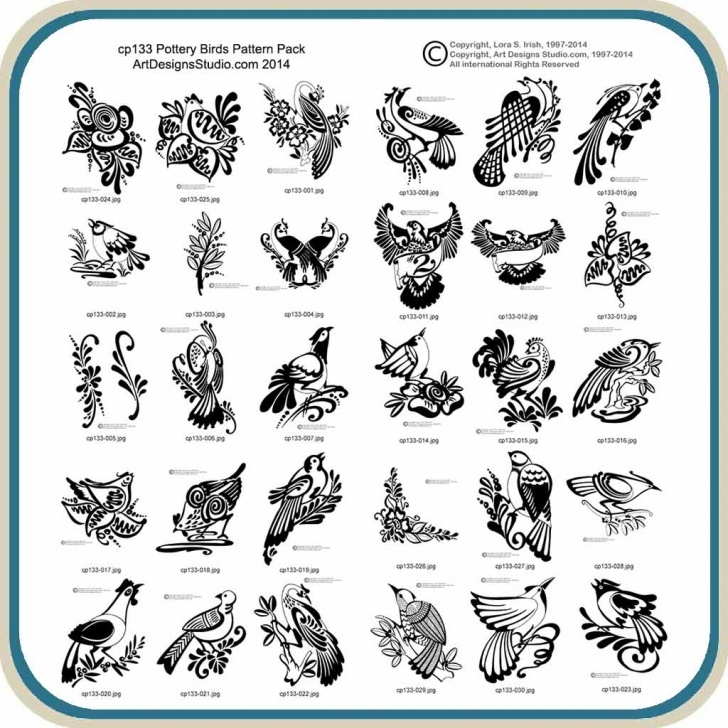 Best Bird Carving Patterns Free Techniques for Beginners Pottery Birds – Classic Carving Patterns Pictures