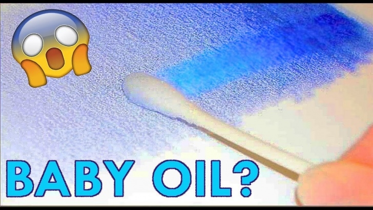 Best Blending Colored Pencils With Baby Oil Tutorials Testing Everyday Products To Blend Colored Pencils Photo