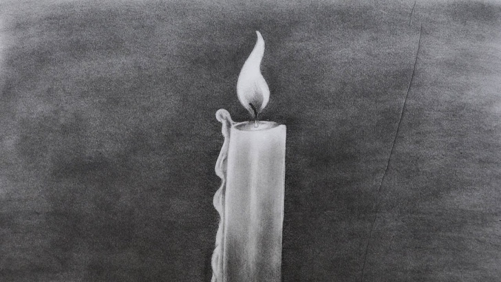 Best Candle Pencil Drawing Techniques for Beginners How To Sketch A Candle Photo