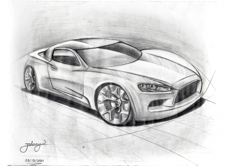 Best Car Pencil Drawing Tutorial Car Pencil Drawing At Paintingvalley | Explore Collection Of Car Pics