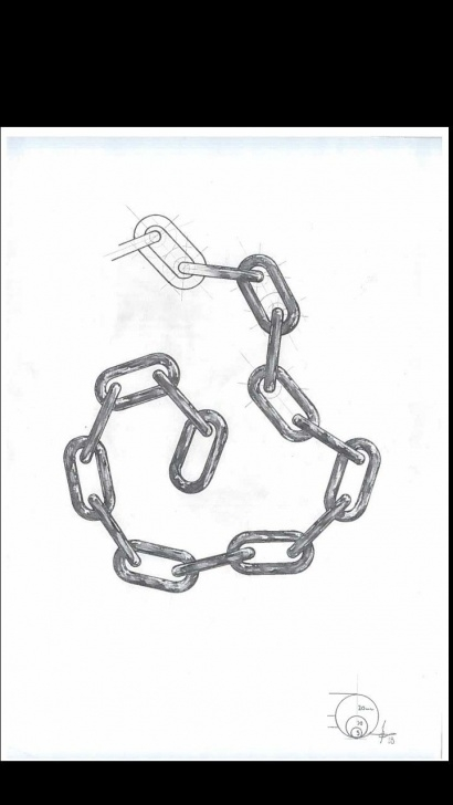 Best Chain Pencil Drawing Courses Chain Link Technical Drawing | Drawings In 2019 | Drawings, Link Art Pic
