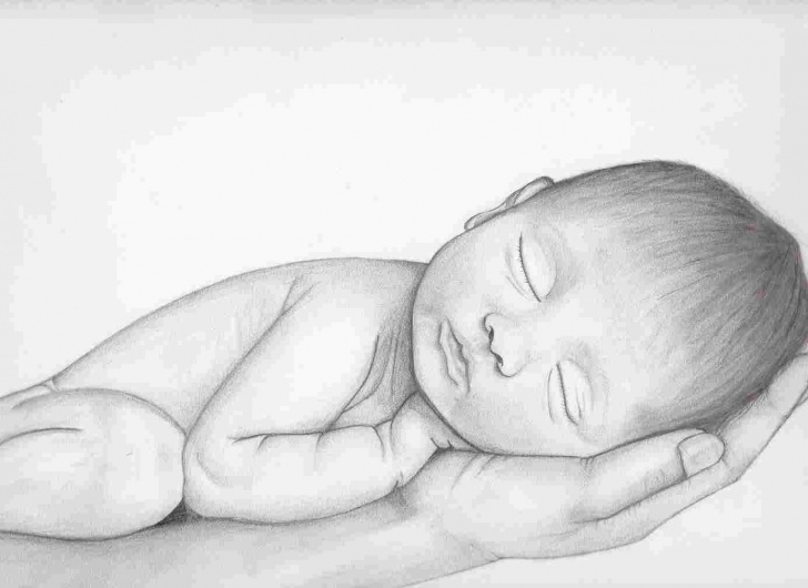 Best Child Pencil Drawing Tutorial Baby Pencil Drawing At Paintingvalley | Explore Collection Of Picture