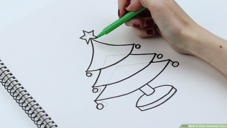 Best Christmas Pencil Drawings Easy Techniques How To Draw Christmas Trees (With Pictures) - Wikihow Image