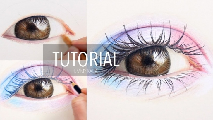 Best Colored Pencil Drawings Step By Step Simple How To Draw/color A Realistic Colorful Eye With Colored Pencils | Step By  Step Picture