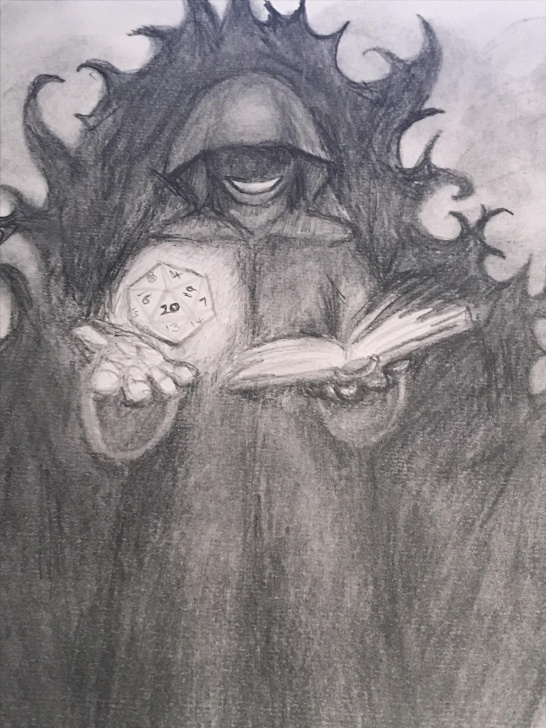 Best Dark Pencil Drawings Ideas Our Dark Lord, Chris Perkins. A Pencil Drawing. - Dicecameraaction Pictures