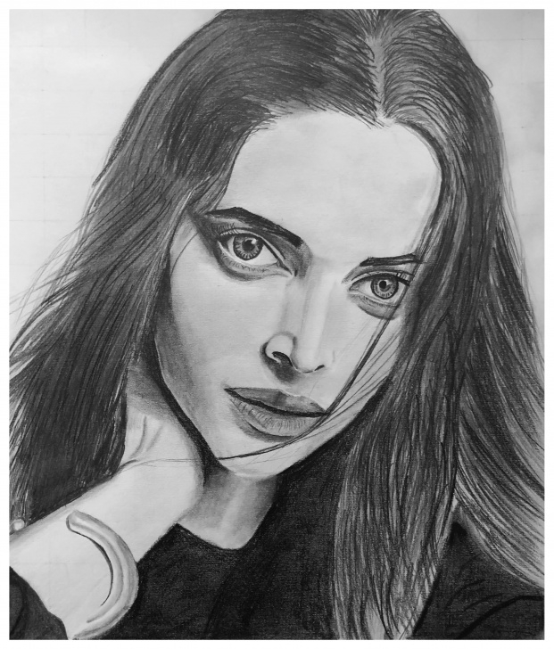 Best Deepika Padukone Pencil Sketch Tutorial Pencil Drawing Deepika Padukone, 30X25Cm : Drawing Images