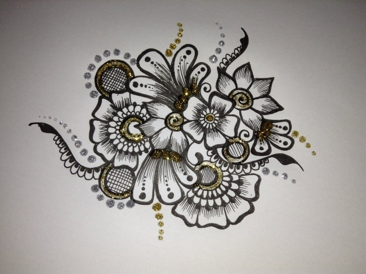 Best Design Pencil Sketch Easy Sketch Designs Flower And Pencil Sketch Flower Design Pencil Sketch Photos