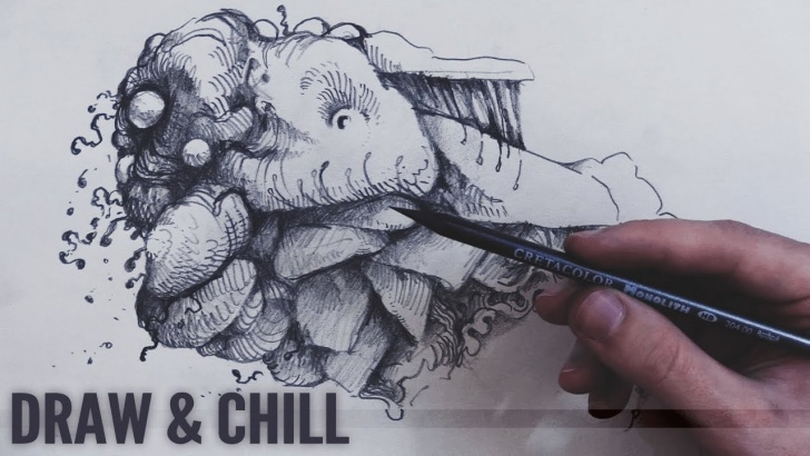 Best Doodle Art Pencil Courses Drawing With Peter: Pencil Sketching (Realtime Doodle) Pic