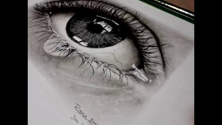 Best Drawing Using Charcoal Pencil Ideas How To Draw Realistic Eye Using Pencil And Charcoal / Pencil Drawing /  Speed Drawing Image