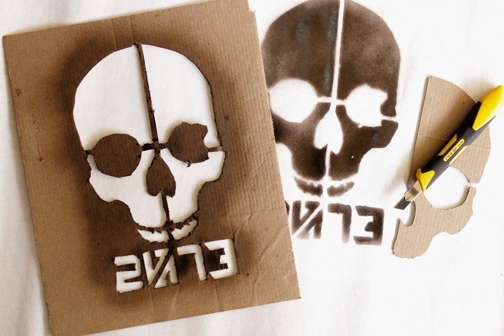 Best Easy Graffiti Stencils Ideas How To Make Graffiti Stencil In 2019 | How We Do How-To | Banksy Images