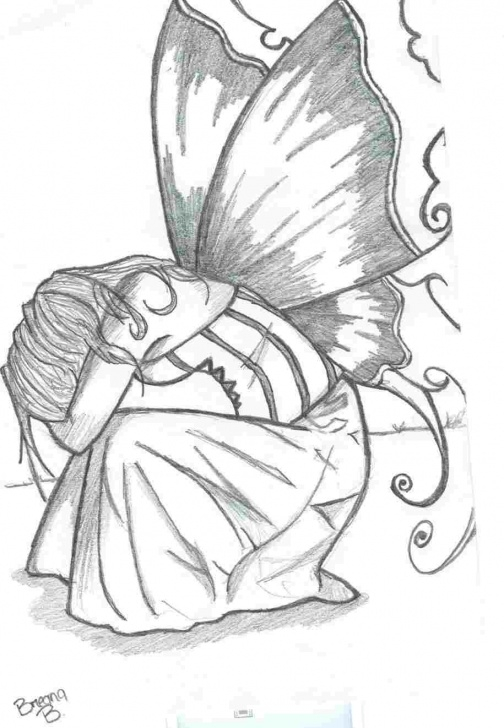 Best Fairy Pencil Sketch Tutorials Pencil Drawing Fairies At Paintingvalley | Explore Collection Of Photo