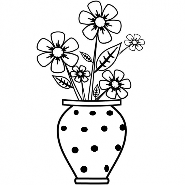 Best Flower Pot Pencil Drawing for Beginners Flower Pot Images For Drawing | Sketches In 2019 | Easy Flower Pics