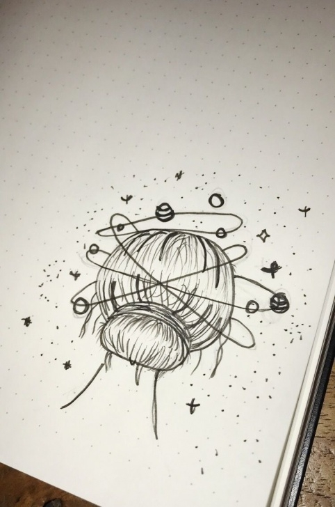 Best Galaxy Drawing Pencil Tutorials Art #drawing #pencil #drawingchallenge #loveit #galaxy #artwork Picture