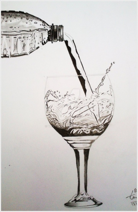 Best Glass Pencil Drawing for Beginners Water Glass Pencil Drawing By Tanveer By Tanveer09 On Deviantart Image