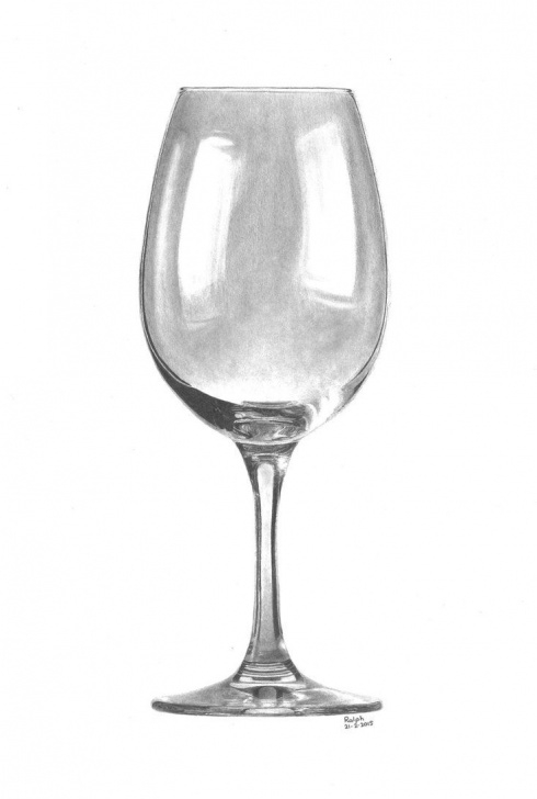 Best Glass Pencil Drawing for Beginners Wine Glass By Rotten-Ralph | Amira In 2019 | Drawings, Art Sketches Picture