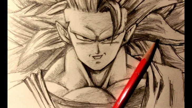 Best Goku Pencil Drawing Techniques for Beginners Goku Pencil Sketch At Paintingvalley | Explore Collection Of Pictures