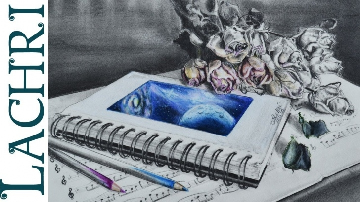 Best Graphite And Colored Pencil Ideas Time Lapse Drawing Sketchbook Graphite And Colored Pencil Speed Painting By  Lachri Pic