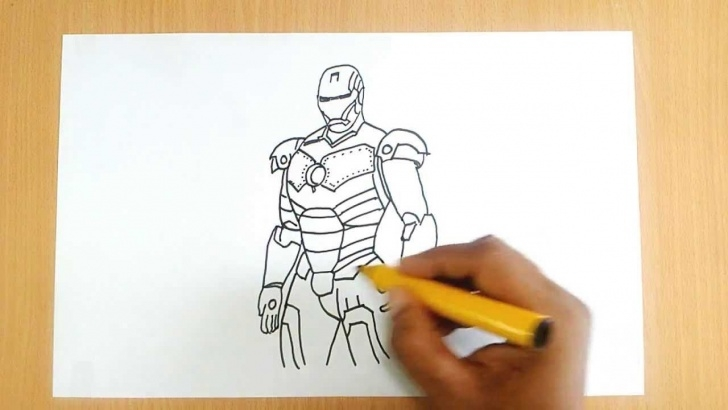 Best Iron Man Drawings In Pencil Easy Step by Step How To Draw Iron Man Photos