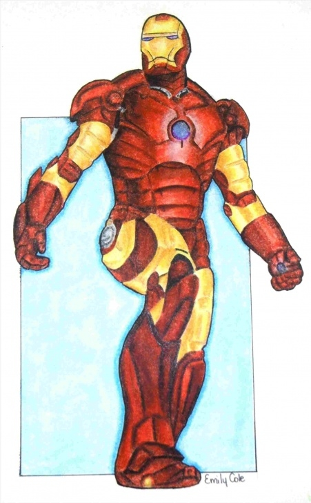 Best Iron Man Drawings In Pencil Easy Tutorial Man Drawing Color Easy Of Iron Man Drawing In Pencil And Images