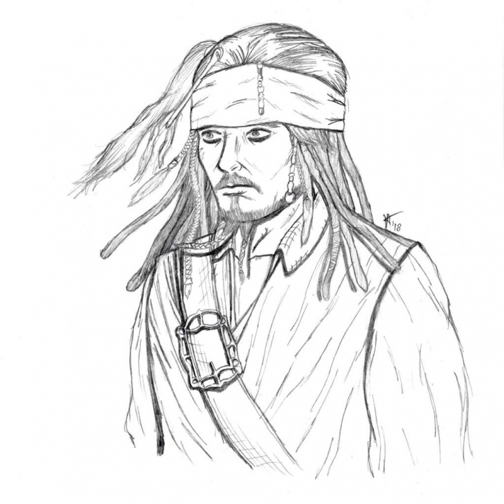 Best Jack Sparrow Pencil Sketch Ideas Jack Sparrow Pencil Drawing | Pirates Of The Caribbean Amino Pics