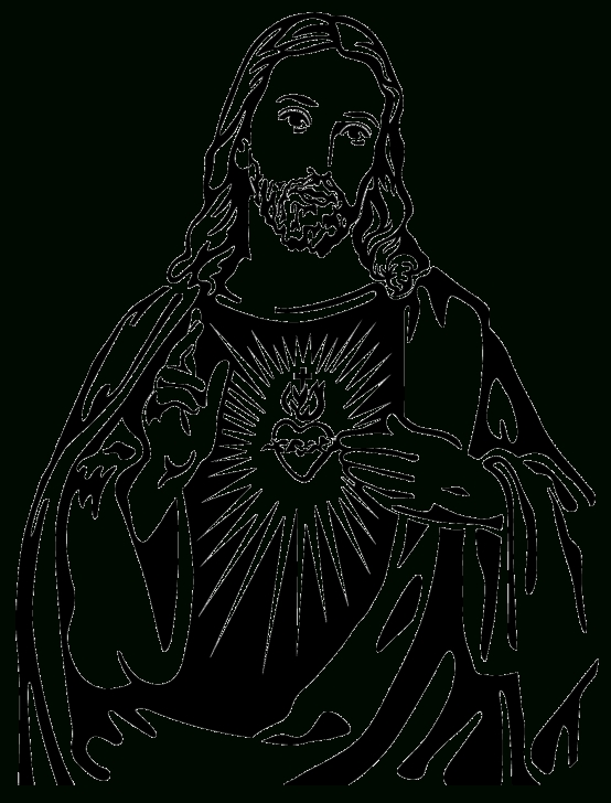 Best Jesus Christ Stencil Art Free Pin By Alejandra Garcia On Ref | Religious Art, Jesus Tattoo Photo