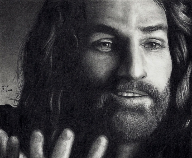 Best Jesus Laughing Pencil Drawings Ideas Pencil Drawings Of Jesus | Drawing Of Jesus Smiling | Drawings Pictures
