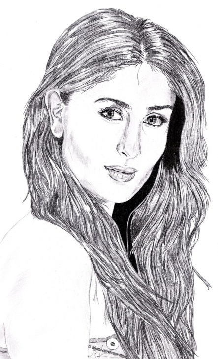 Best Kareena Kapoor Sketch Tutorial Pencil Sketch Of Kareena Kapoor And Kareena Kapoormiazephyrart On Pic