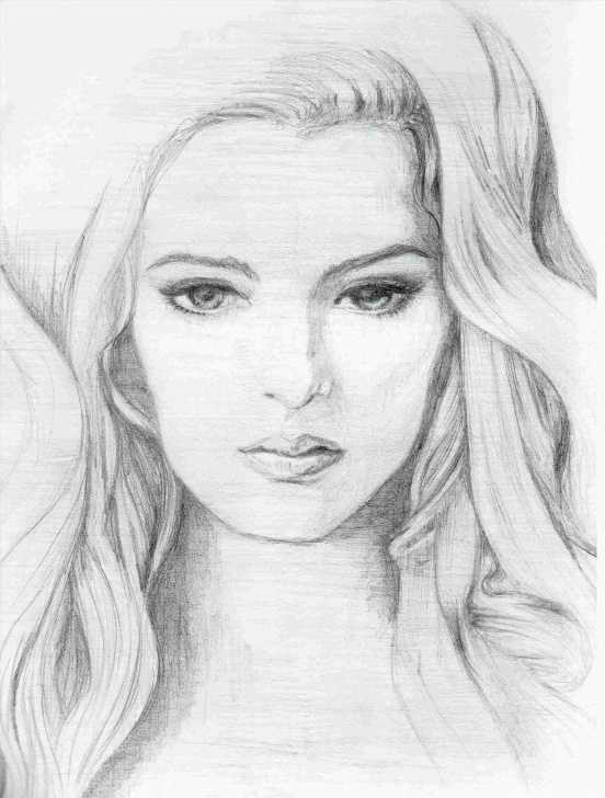 Best Lady Pencil Sketch Step by Step Pencil Sketch Of Indian Lady | Drawing Work Pictures