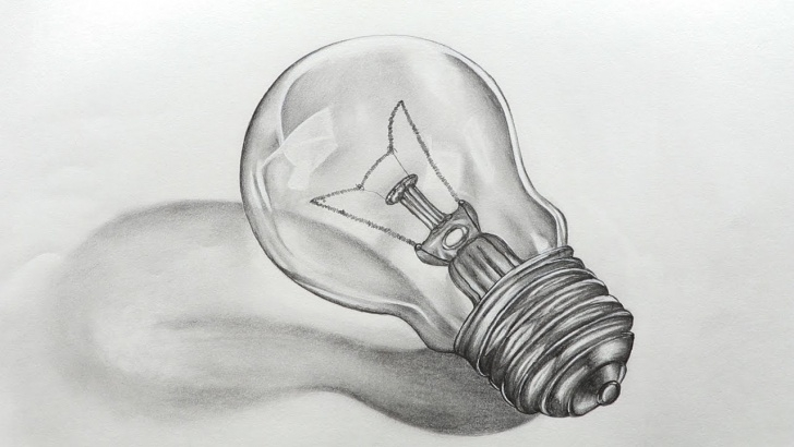 Best Light Bulb Pencil Drawing for Beginners How To Sketch Bulb Photos