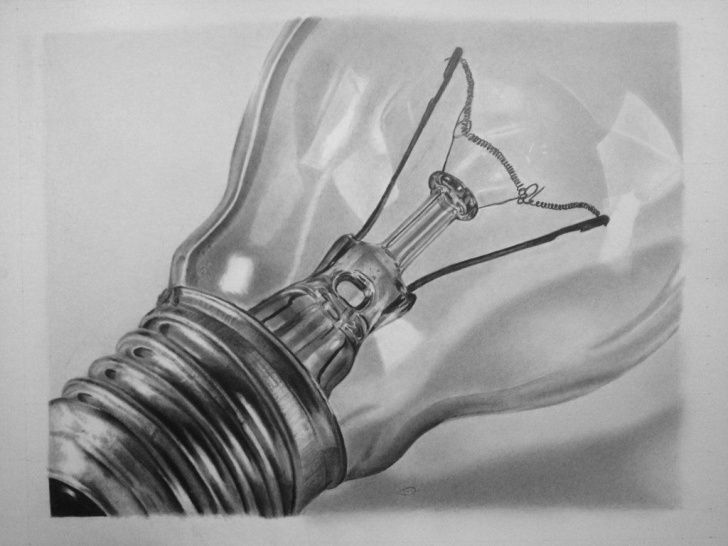 Best Light Bulb Pencil Drawing Techniques for Beginners Light Bulb By E11Even-Design On Deviantart - Pencil Drawing #art Image