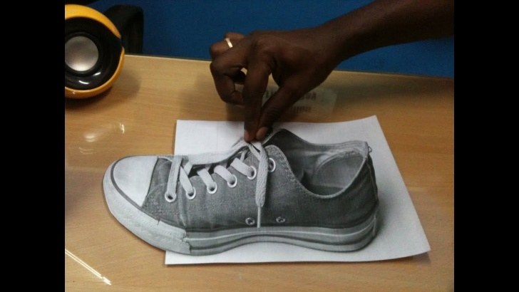 Best Mind Blowing 3D Pencil Drawings Simple Mind Blowing 3D Optical Anamorphic Illusions Even In Grey Scale Pic