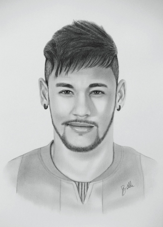 Best Neymar Pencil Drawing for Beginners 10+ Amazing Neymar Sketch Drawing Gallery - Sketch - Sketch Arts Pictures