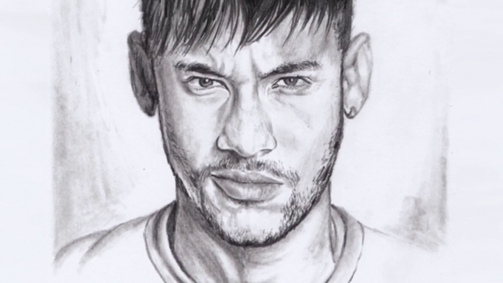 Best Neymar Pencil Drawing Tutorials Neymar Sketch Drawing And Neymar Jr The Soccer Superstar | Drawing Images