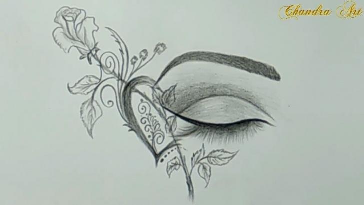 Best Nice Pencil Drawings Step by Step Cool Drawings - Pencil Drawing A Beautiful Eye #easy Image