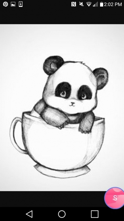 Best Panda Pencil Sketch Techniques for Beginners Baby Panda In A Cup | Draw In 2019 | Panda Drawing, Cute Drawings Picture