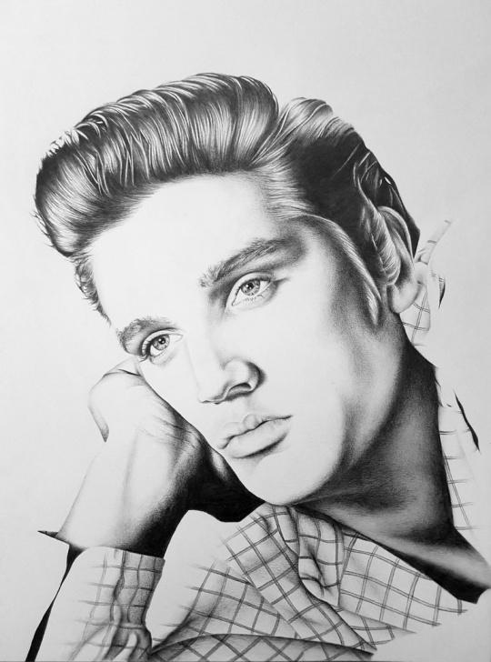 Best Pencil Drawing Of Elvis Presley Easy Elvis Presley Drawing, Pencil, Sketch, Colorful, Realistic Art Photos