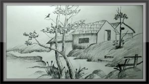 Best Pencil Drawings Of Nature Step by Step Easy Pictures To Draw - Landscape Drawing Nature In Pencil Pics