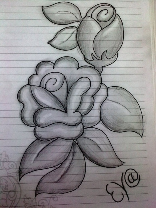 Best Pencil Shading Drawing Step by Step Easy Pencil Shading Drawings Flower And Flowers Pencil Shading Pictures