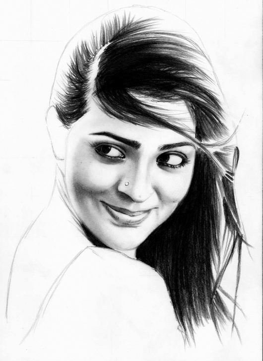 Best Pencil Shading Portrait Simple Learn To Draw A Realistic Portrait With Pencil | Creative Gaga Picture
