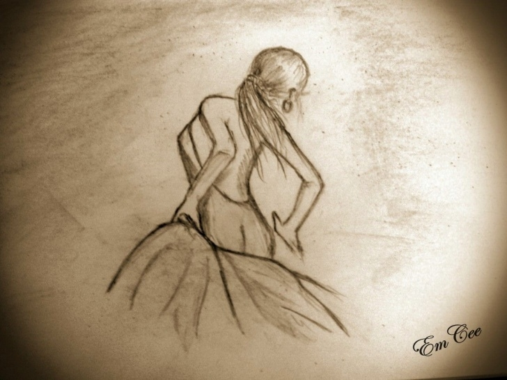 Best Pencil Sketch Of Dancing Girl Tutorial Pencil Sketch Of Dancing Girl A Rat's Nibble Enchanted | Dance Pics
