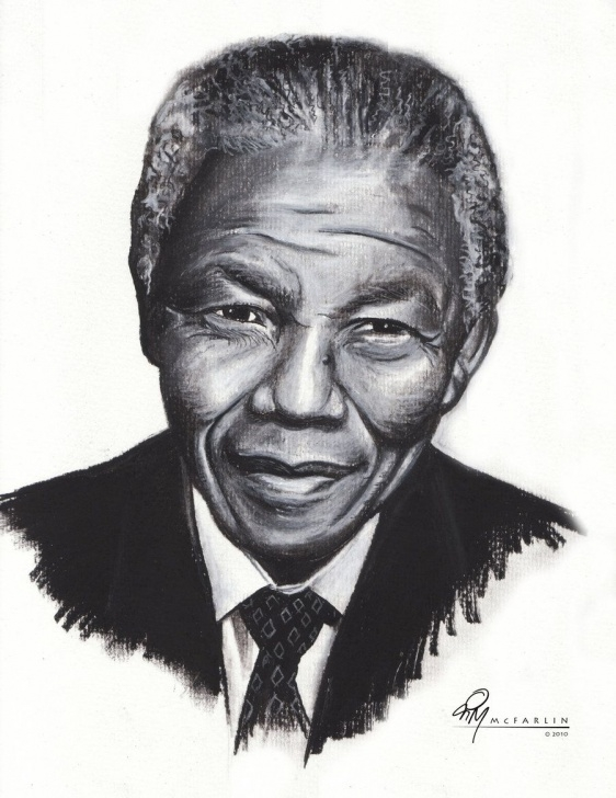 Best Pencil Sketch Of Nelson Mandela Courses Nelson Mandela Sketch Drawing And Tim Mcfarlin Captures Nelson Pics